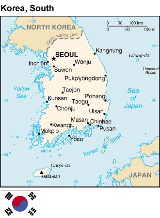 map_korea_south