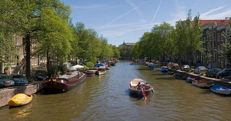Downtown canals, Amsterdam