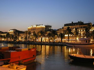 Waterfront in Split Croatia