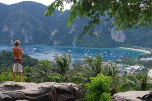 Lookout on Koh Phi Phi Thailand