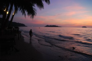 Sunset on Koh Chang Thailand