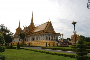 Cambodian Royal Palace in Phnom Penh
