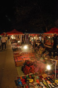 Luang Prabang Night Market Laos