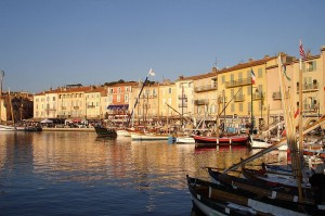 St. Tropez harbor france