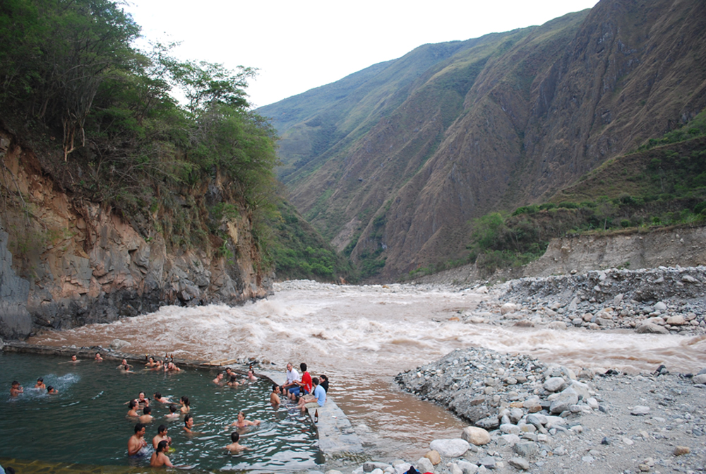 Santa Teresa Hot Springs Salkantay Trek