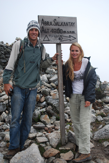 Summit of Salkantay Trail