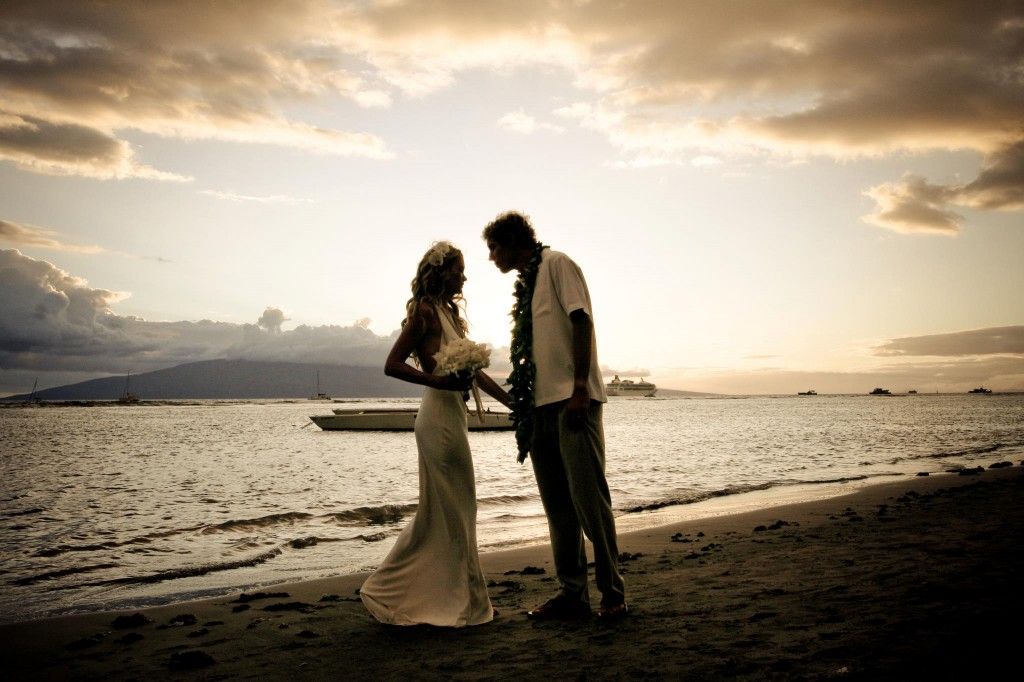 wedding on Maui