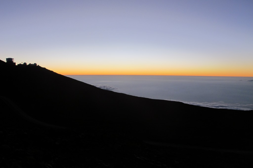Haleakala Crater at Sunset