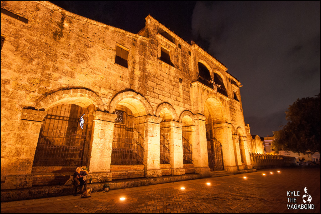 Santo Domingo at night watermark