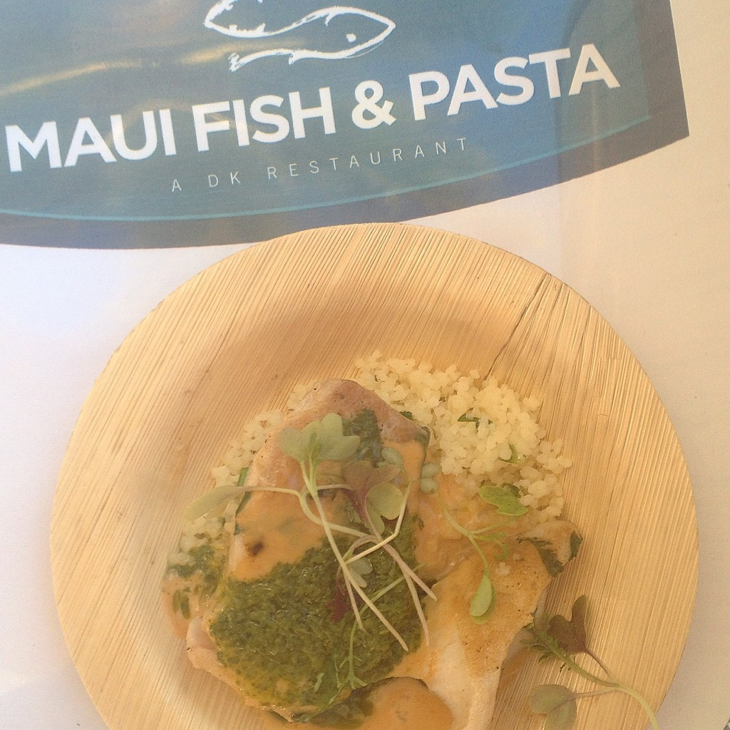 Maui Fish and Pasta Dish at Kaanapali Fresh