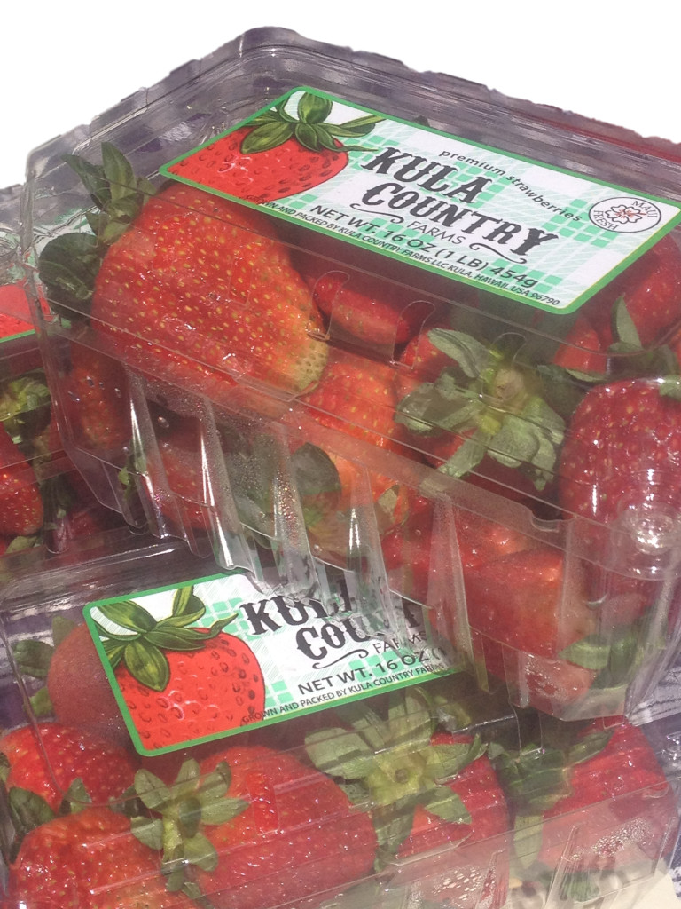 strawberries Kula Country Farms at Kaanapali Fresh