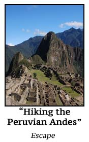 Hiking the Peruvian Andes