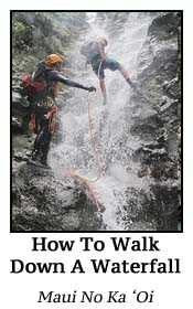How to Walk Down A Waterfall