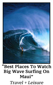 Best Places To Watch Big Wave Surfing On Maui
