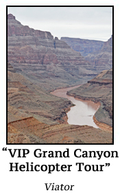 VIP Grand Canyon Helicopter Tour