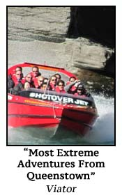 Most Extreme Adventures From Queenstown