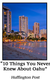 10 Thing You Never Knew About Oahu HuffPo