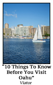 10 Things to know before you visit Oahu