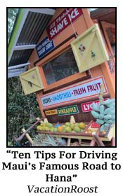 10 Tips For Driving Road to Hana Maui