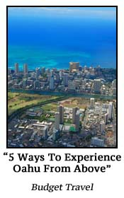 5 Ways To Experience Oahu From Above