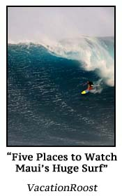 Five Places To Watch Maui's Huge Surf