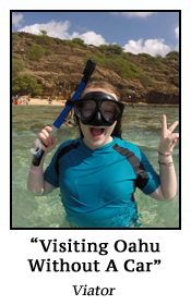 Visiting Oahu Without A Car